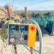 punto di consegna energia e interruttore generale