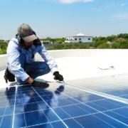 Impianto fotovoltaico-linee vita