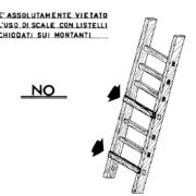 conformità delle scale portatili