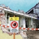demolizioni in cantiere