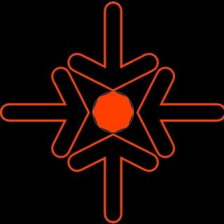Simboli di emergenza in cantiere